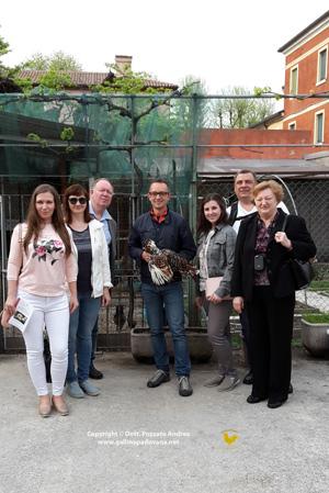 Con la segreteria mondiale avicoltura da Mosca